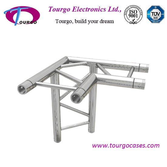 290*290mm Spigot Ladder Truss 3 Way 90 Degree Corner