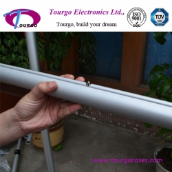 5' - 8' Telescopic Crossbar - Button Lock