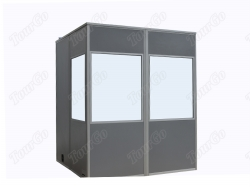 Super Lightweight full-size interpretation booths