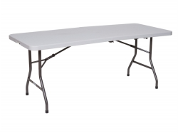 1.52m Length Folding Table for 1.2m Table Top Interpreter Booth