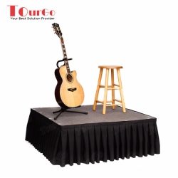 TourGo Drum Stage Rental with Mobile Stage Platform for Event Stage Rental