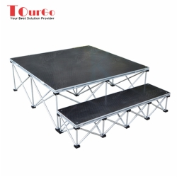 TourGo Indoor Stage System with Stage Platform Used Movable Stage