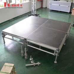 TourGo Concert Aluminum Stage System with Movable Stage Deck