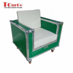 TourGo 1 Seater Furniture Sofa Flight Case