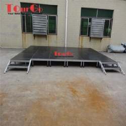 Tourgo Decent Aluminum Portable Stage Platform Design For Outdoor Events