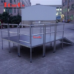 Quick Stage Platform with Small Stage Platform for Event Stage