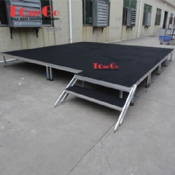 Outdoor Lighting Event Stage Aluminum Portable Stage For Sale