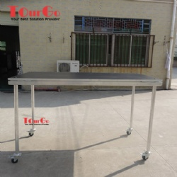 Non-slip Industrial Material Stage Platform With Wheels