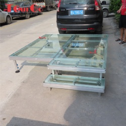 1x2m Transparent Plexiglass Stage Platform For Event  FOB Reference Price:Get Latest Price