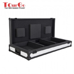 LED PANELLED - CDJ COFFIN AND 12 INCH MIXER FLIGHT CASE