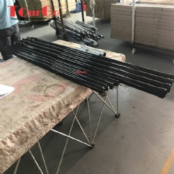 Black Paint Pipe Telescopic Crossbar 3-5ft