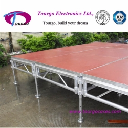 Tourgo Aluminum Stage with Industry Surface