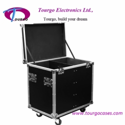 Utility Trunk Cases – 22.5 x 16 x 34inch Case with Caster Board for Lighting Equipments and Accessories