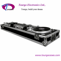 Turntables Coffin - 2pcs Turntables / 19inch Mixer DJ Coffin