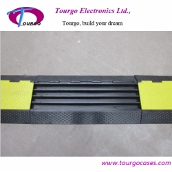 4 channel Rubber Cable Ramp Protector