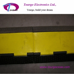 3 channel Rubber Cable Ramp Protector
