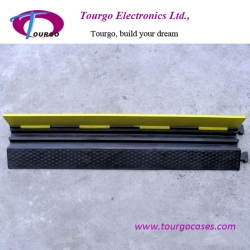 2 channel Rubber Cable Ramp Protector